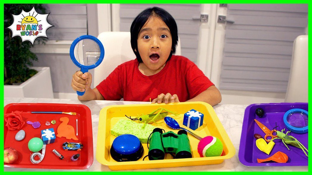 萊恩開箱玩具|圖源:擷自YouTube頻道Ryan's World