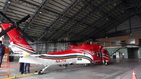 亞航公司獲得內政部空勤總隊UH-60M型直昇機隊委商管理及維修合約,原訂45天完...