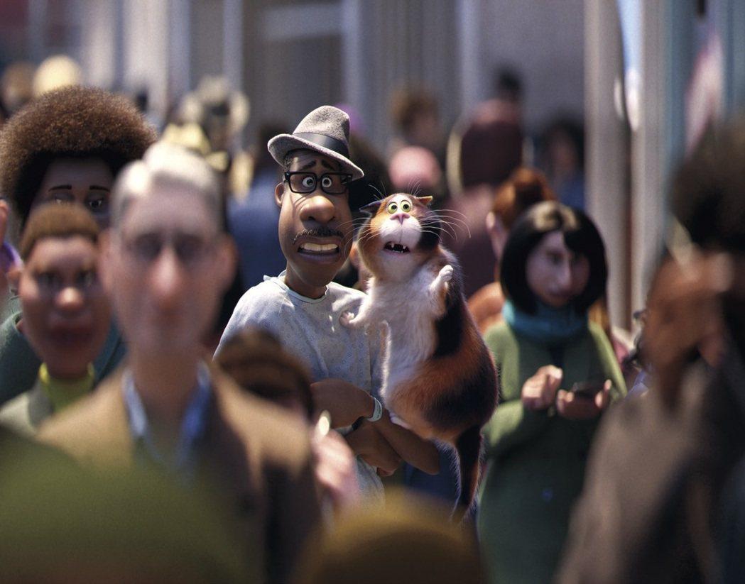 「靈魂急轉彎」是皮克斯又一好評動畫,已傳出奧斯卡呼聲。圖/迪士尼提供