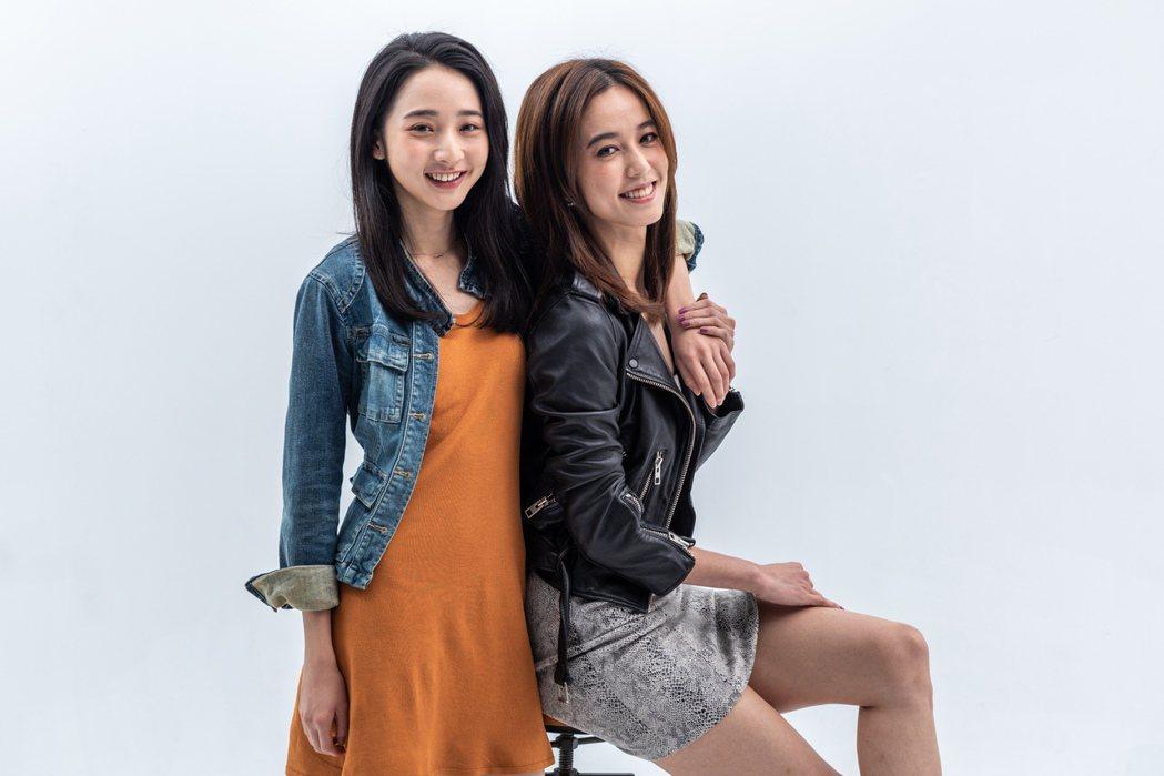 李沐(左)、陳庭妮(右)演出舞台劇演員。圖/齊石提供