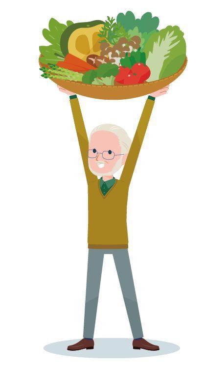 不管任何年齡層的蔬果攝取都要足夠。圖/123RF