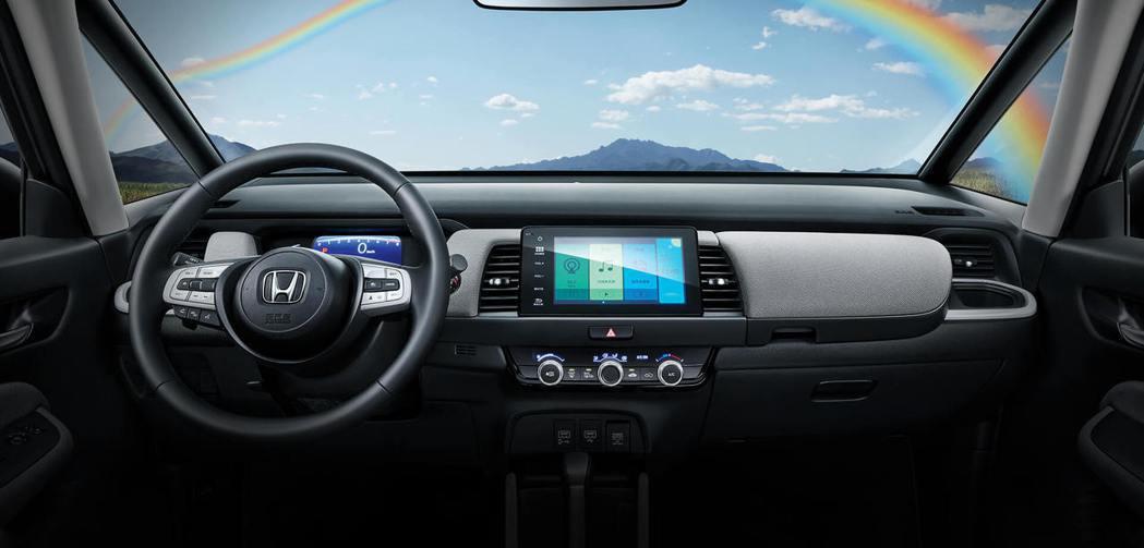 寬闊的駕駛視野一直都是Fit車系的特色,圖為海外版本。 圖/摘自東風本田