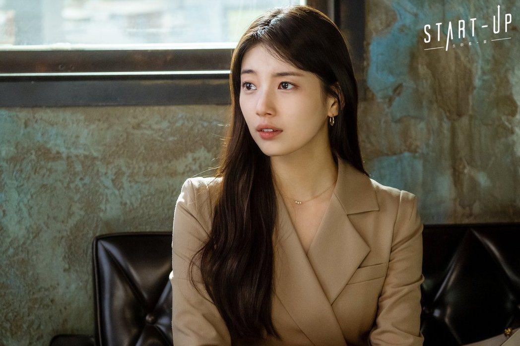 秀智在tvN戲劇《Start-Up》裡飾演徐達美。 圖/取自tvN드라마