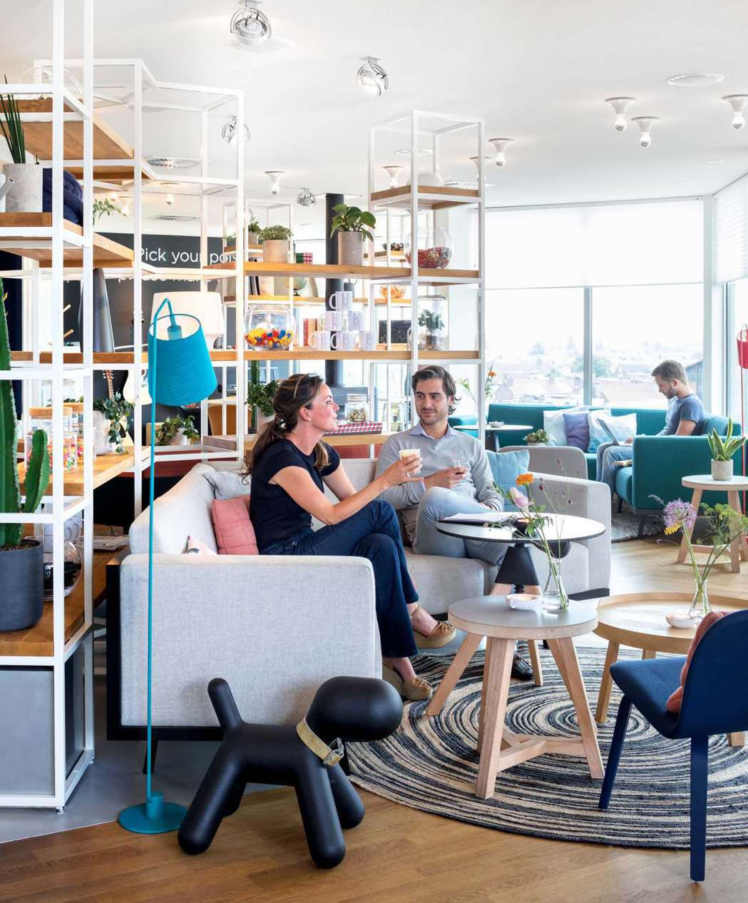 ZOKU的公共區是工作也可是方便社交的空間。 圖/ZOKU