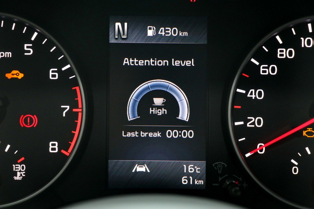 DAW駕駛疲勞警示系統。 記者陳威任/攝影