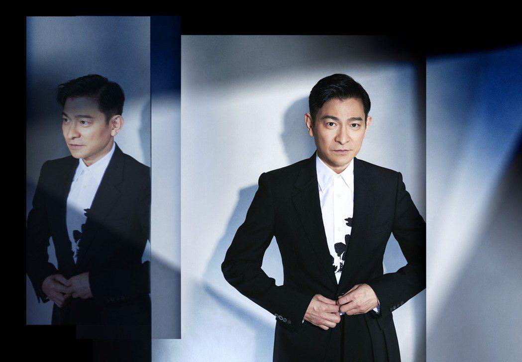 劉德華首次推出數位專輯「演‧唱」。圖/台灣映藝提供