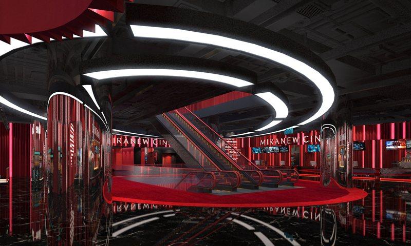 新莊最大的電影院「美麗新宏匯影城」將於12月25日起試營運,12月31日正式開幕。圖/宏匯廣場提供