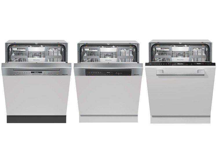 Miele G7000系列旗艦級洗碗機共有3款型號,建議售價71,000~82,...