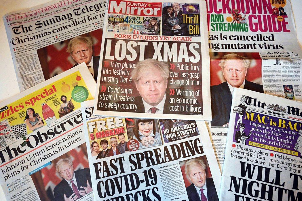 「封城鎖國?防疫一夜重回了恐懼的原點...」英國首相強生19日晚間因英格蘭東南方...