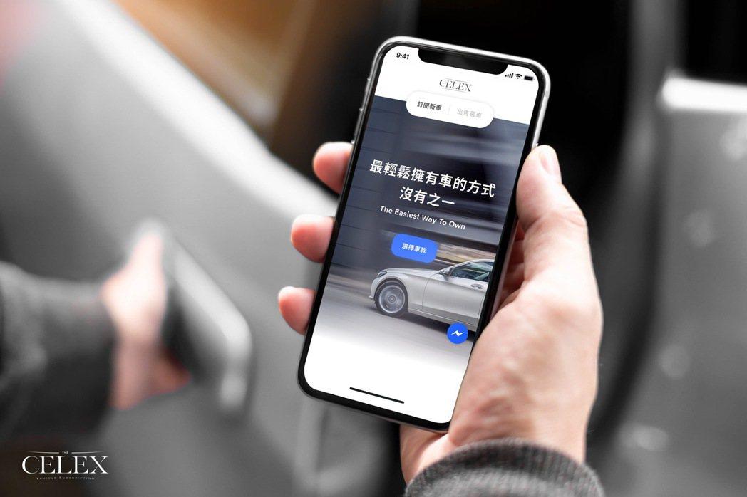 CELEX期望改變台灣民眾愛用大筆現金買車的習慣,推出三種輕鬆選方案,在不對生活...