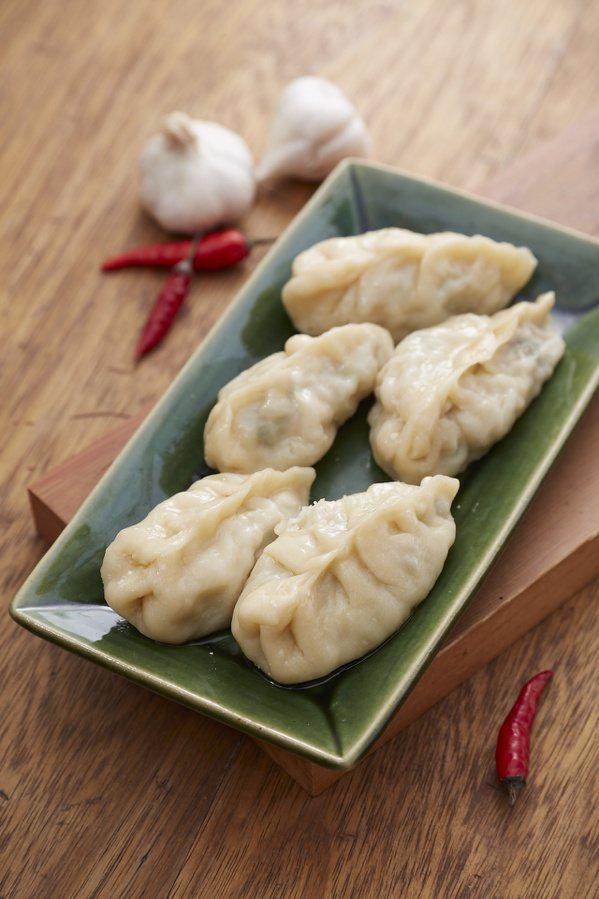 花素蒸餃。 圖/山岳文化 提供