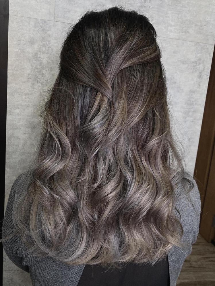 髮型創作/L.F Hair Salon / Una,圖/StyleMap美配提供