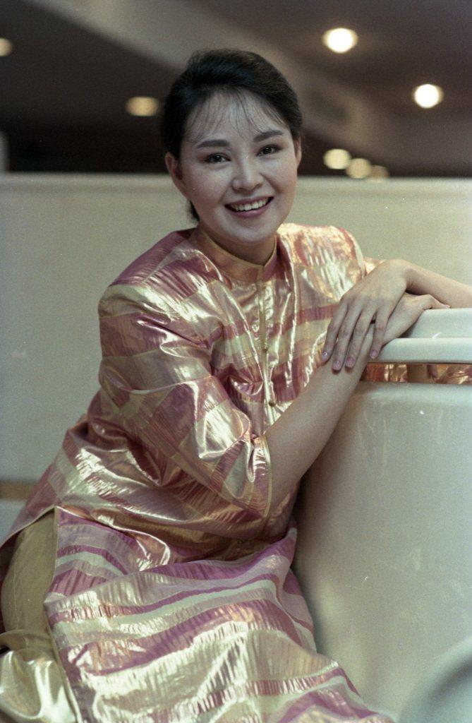 楊惠姍曾在娛樂圈紅極一時。圖/報系資料照片