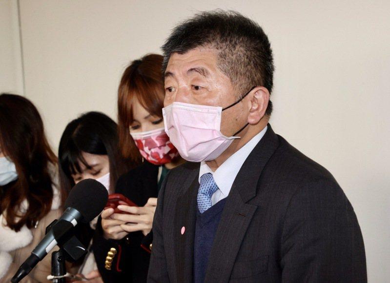 衛福部長陳時中(圖)表示,是他決定告發蘇偉碩,「不得已才這樣做」。記者黃義書/攝影