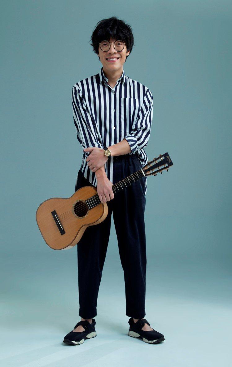 盧廣仲將在新竹縣跨年晚會擔任壓軸演唱。圖/中視提供