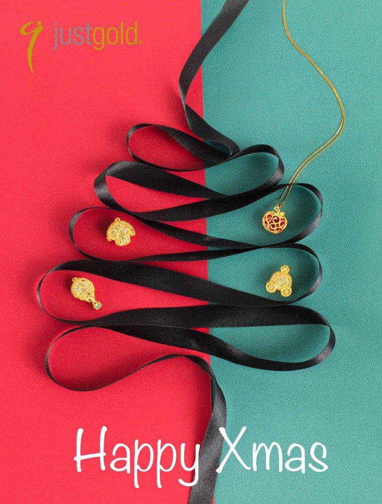 鎮金店全新「奇妙幻想」系列於夢幻浪漫的耶誕節全新上市。圖/鎮金店提供