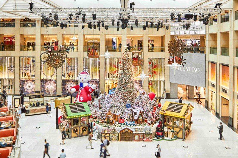今年受新冠肺炎的影響,旅客無法親身前往香港歡度浪漫節慶,香港旅遊發展局特別精選香港六大必看聖誕景點美照一解旅客無法親臨的遺憾。圖/香港旅遊局提供