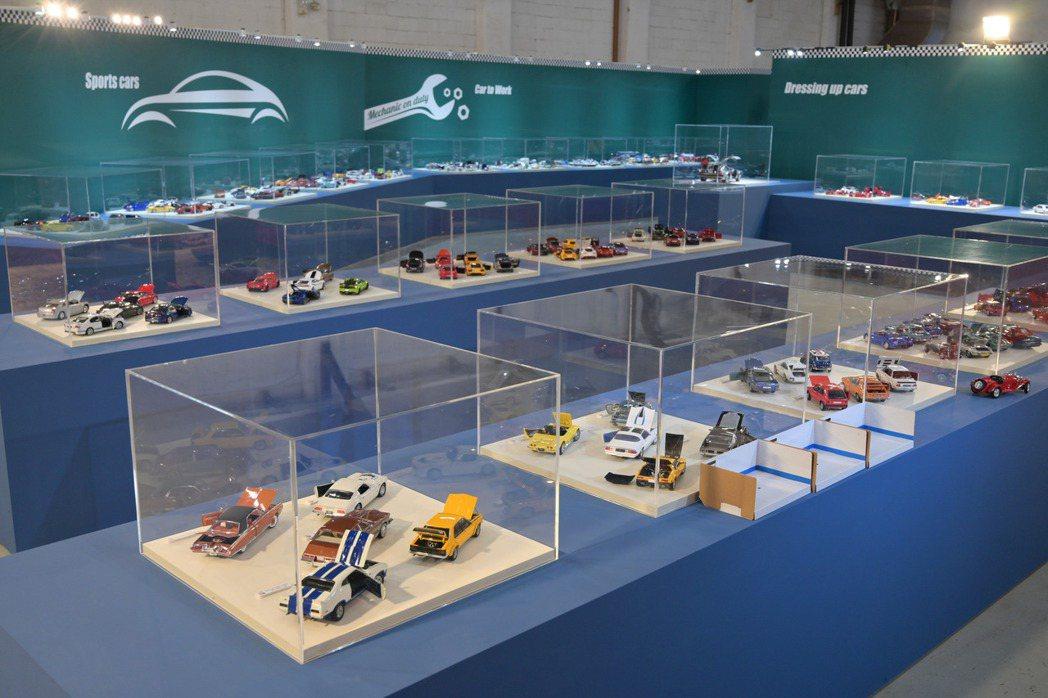 「世界の大模型車展」首次登台將於松菸文創園區4號倉庫盛大展出!圖/寬宏提供