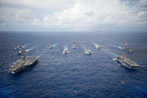 因應西太平洋戰事爆發?美國海軍第一艦隊的組建與部署