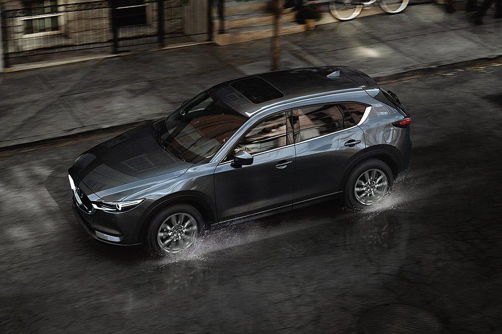 Mazda CX-5全車系標配i-ACTIVSENSE主動安全科技,98.9萬起...