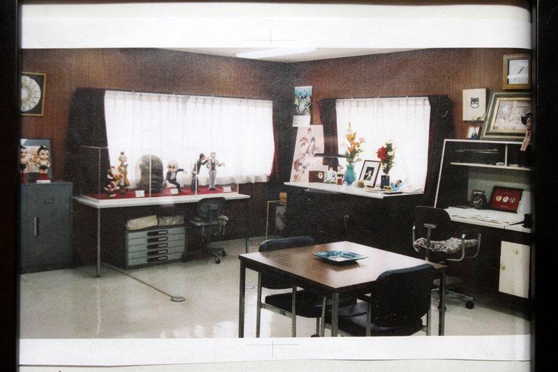 圖為手塚治虫前工作室照片,翻拍自東京高田馬場手塚治虫工作室。 圖/聯合報系資料照