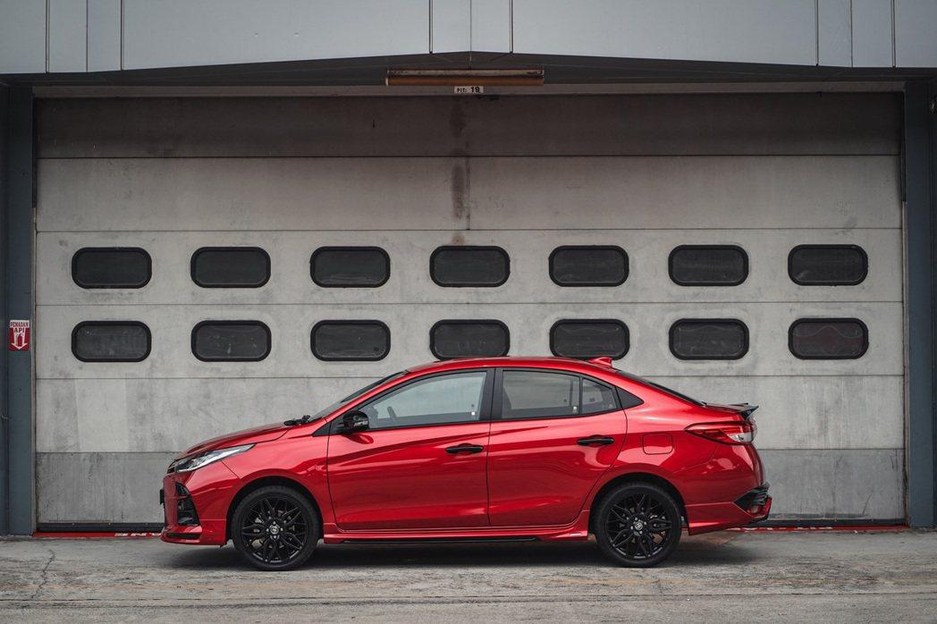 Toyota Vios GR Sport。 圖/Toyota提供