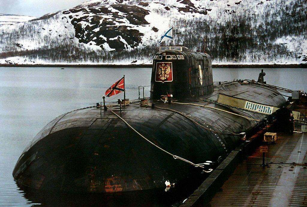 俄羅斯庫爾斯克號潛艦。 圖/法新社