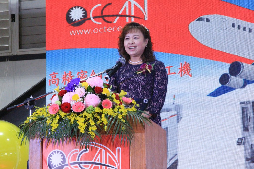 歐群科技(OCEAN)董事長廖月照。 戴辰/攝影