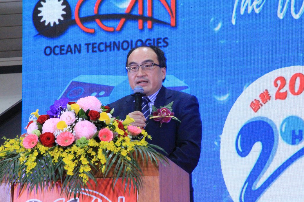 經濟部工業局呂正華局長。 戴辰/攝影