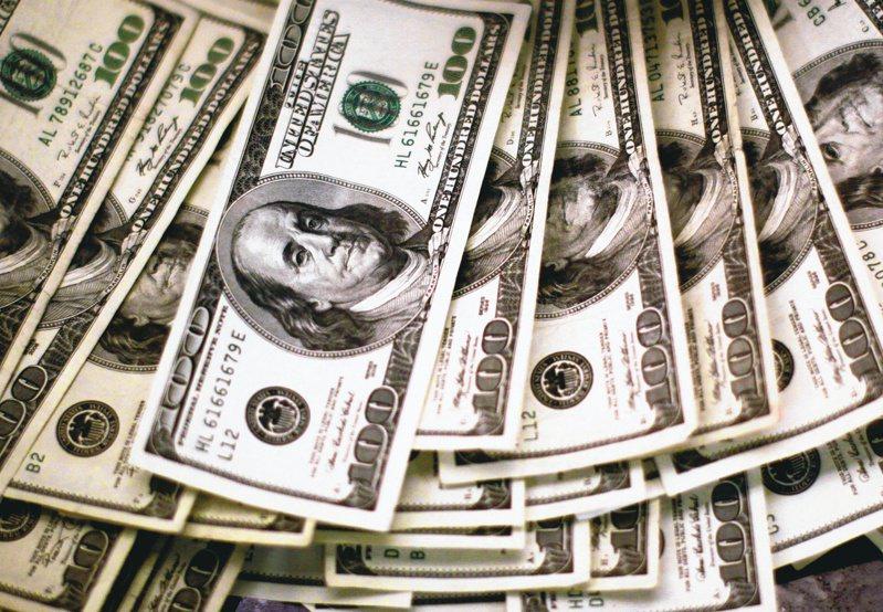 图为美元示意图。路透(photo:UDN)