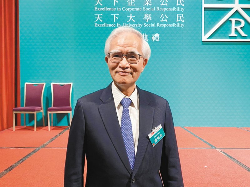 大同新任董事長盧明光。 聯合報系資料照片/記者李孟珊攝影