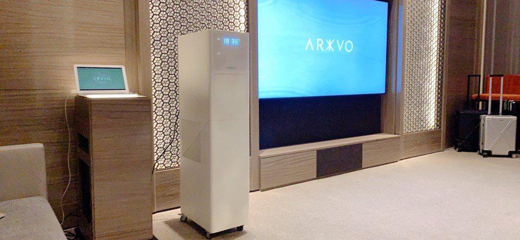 今年9月正式發表的台灣科技家電品牌ARKVO,首發第一款空氣取水開飲機,即將進駐...