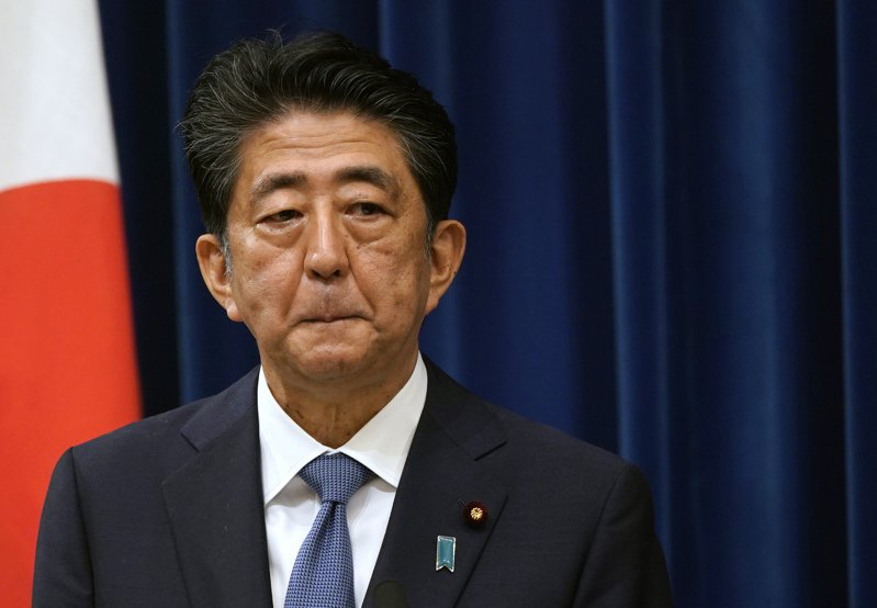 日本前首相安倍晉三。圖/歐新社資料照