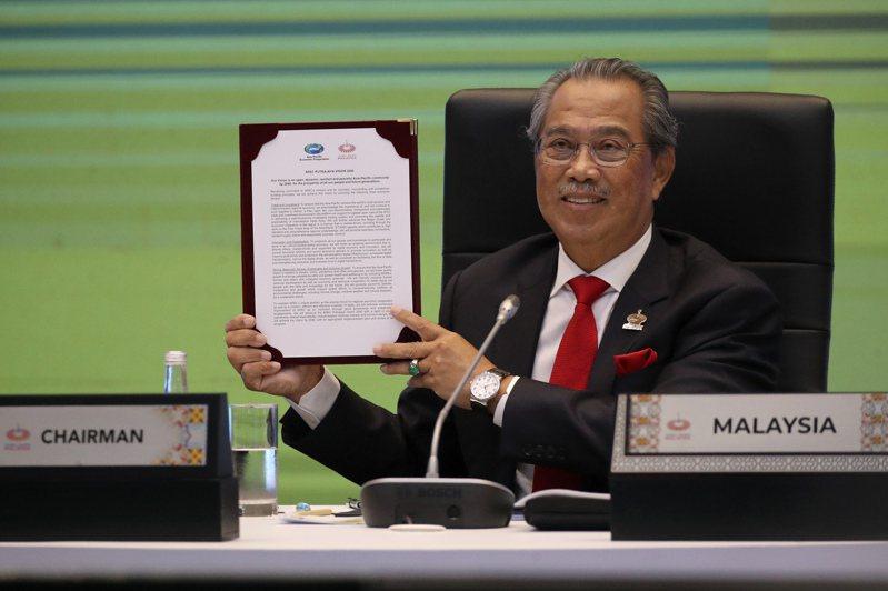 馬來西亞首相慕尤丁。 歐新社