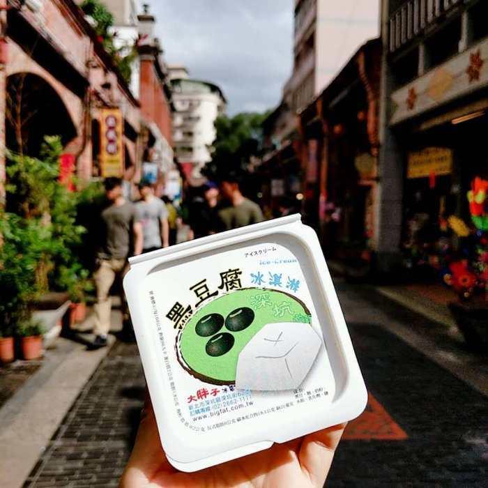 豆腐冰淇淋。 圖/IG, 9msarara
