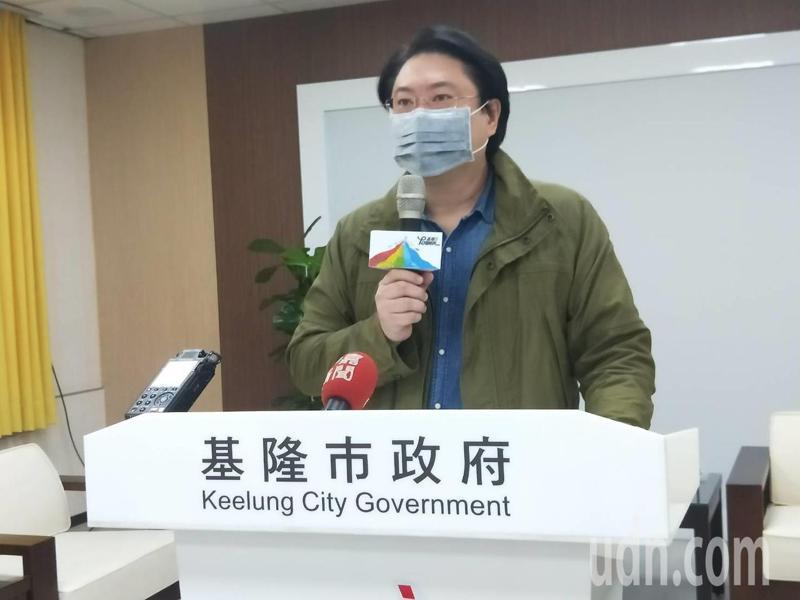 基隆市長林右昌。聯合報系記者游明煌/攝影