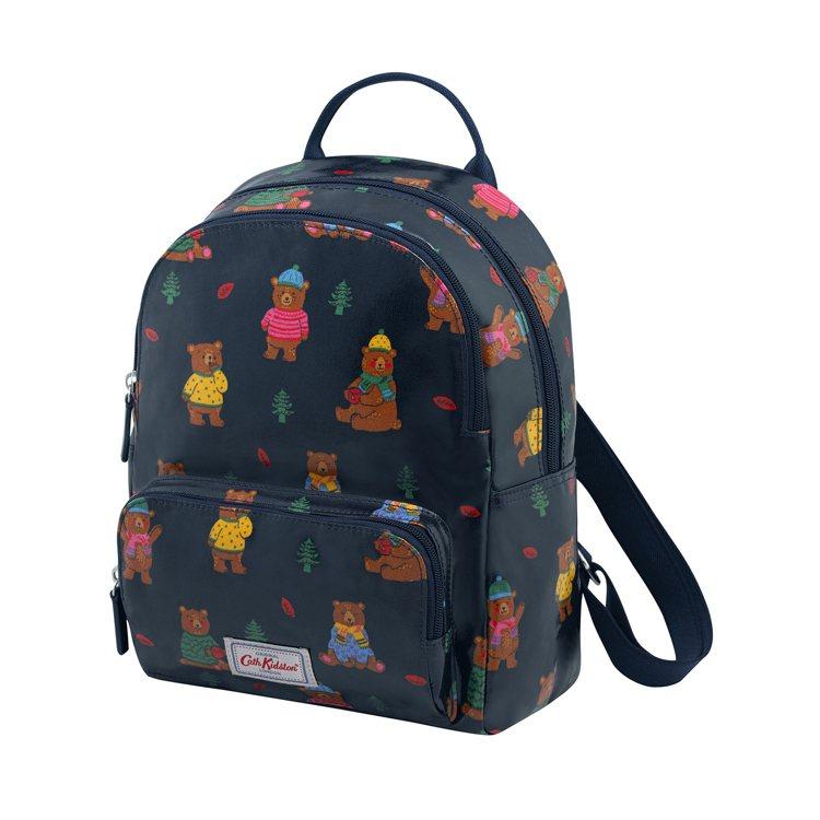Woodland Bear新型迷你款後背包,2,980元。圖/Cath Kids...