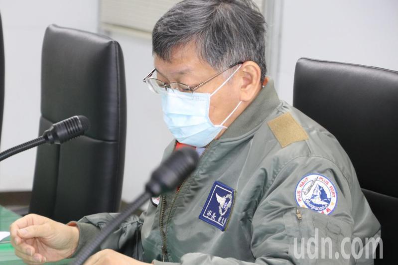 台北市長柯文哲今至捷運萬大線金城機廠視察。記者吳亮賢/攝影