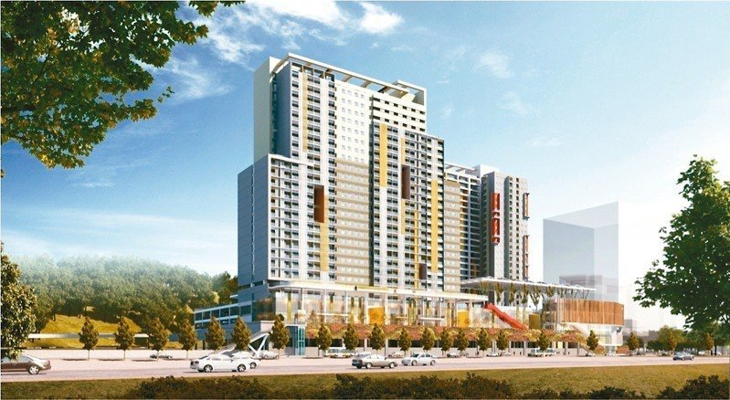 南港機廠基地社會住宅為台北市長柯文哲任內單一基地最大、戶數最多的社宅。圖/北市都...