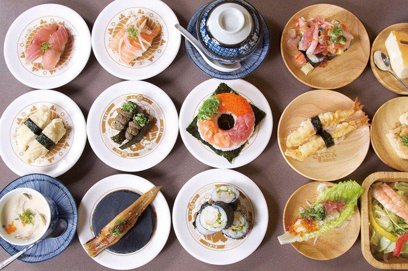 12/29~1/3遠百信義A13「東屋壽司」凡點甜蝦握壽司或蟹膏軍艦壽司,加1元多1件,每日限量10組。圖/遠百提供
