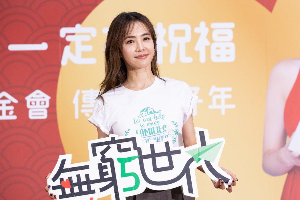 蔡依林22日出席「無窮世代」公益活動。記者季相儒/攝影