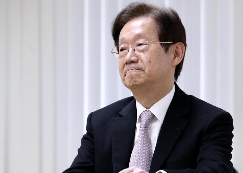 接大同董座50天,林文淵自行宣布辭職。記者林俊良/攝影