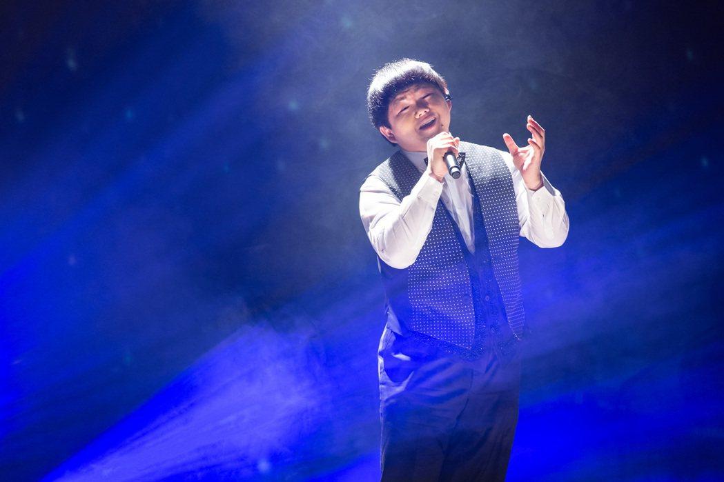林育羣出道10年,今晚首度在台開個唱。記者季相儒/攝影