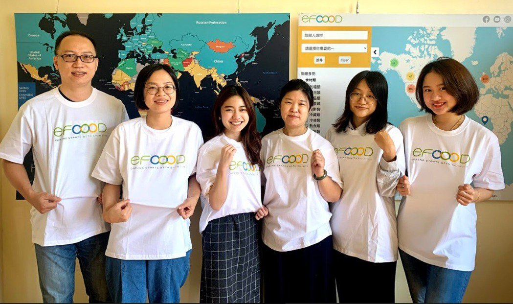 「eFOOOD」團隊推出食物分享地圖是針對人的生理需求,希望透過食物提升人的價值...