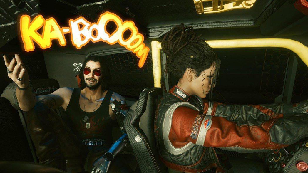 反差萌吾郎跟嘴砲王強尼,應該是遊戲內最有戲份和個人魅力的NPC了