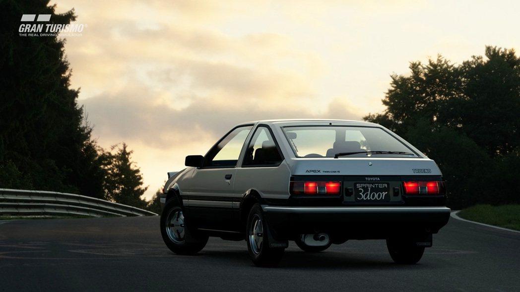 透過網路更新,《跑車浪漫旅:競速》也陸續增加不少車款,以《頭文字D》而大紅的 T...