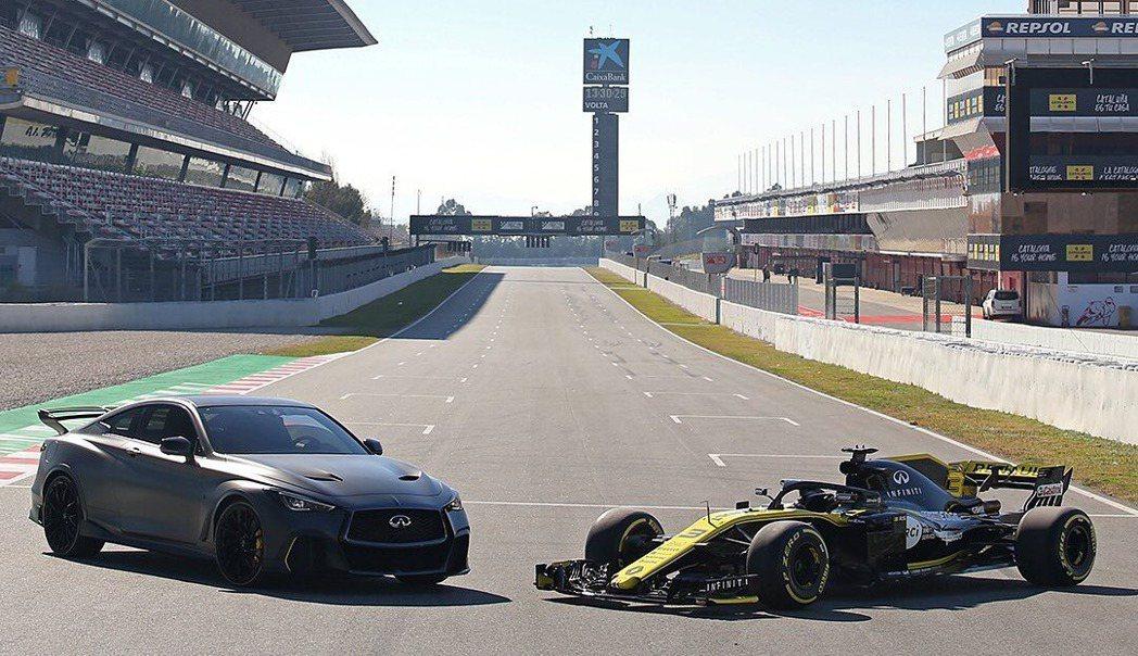 與Renault車隊共同開發Infiniti Q60 Project Black...