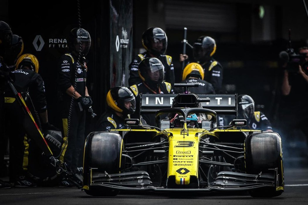 Renault車隊明年將改名為Alpine車隊。 圖/Infiniti提供