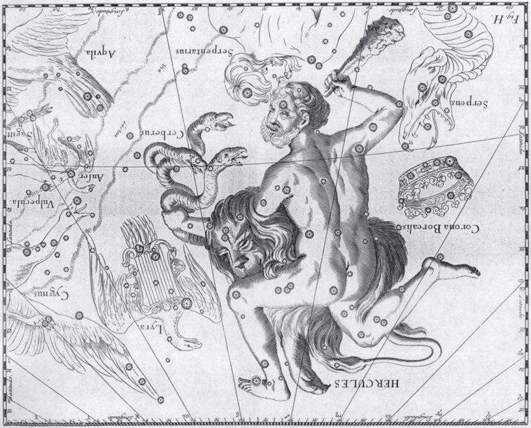 赫丘利神話 圖/摘自《變形記:一部醫學與人體變化的文化史》