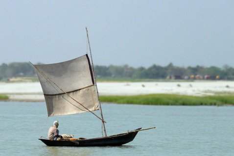 位在孟加拉的博多河。 圖/摘自維基百科